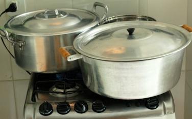 Cozinhando o arroz